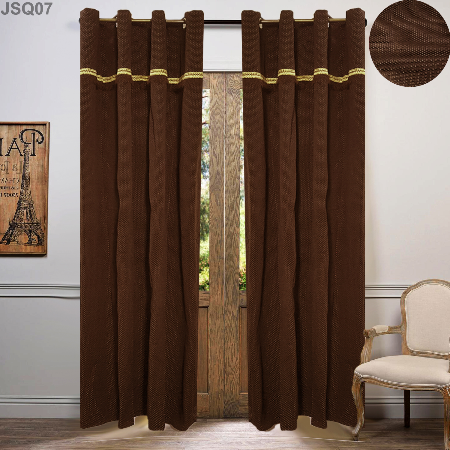 Desi Pakistani Style Curtains Making & Prices