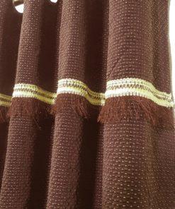 Made in Pakistan Jacquard Semi Quilt Curtains ( 2 Curtain Set )