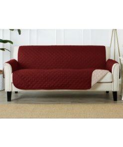 Sofa Coat Covers Maroon