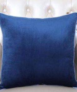 Pack of 5 Plain Soft Feel Velvet Cushion Cover 18 x 18 ( Without Filling )
