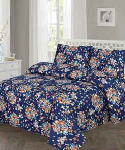 Imported Cotton Satin Bed Sheet 3