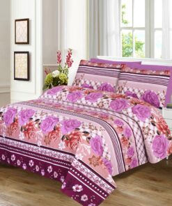 Imported Cotton Satin Bed Sheet 5