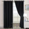 Imported Malai Velvet Curtains Maroon Black