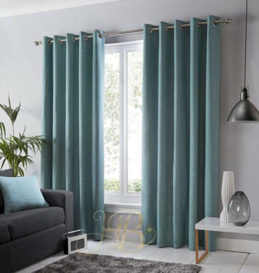 Imported Malai Velvet Curtains light Zink