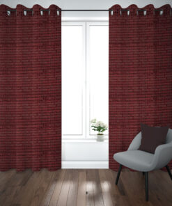 Self dotted curtains