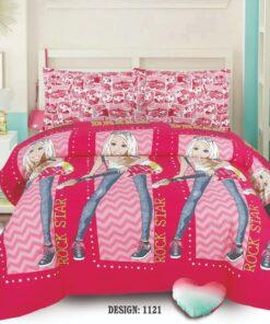 Cotton Bed Sheet High Quality Print 23