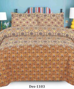 Cotton Bed Sheet High Quality Print 4