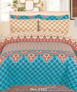 Cotton Bed Sheet High Quality Print 8
