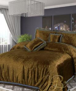 Embossed Velvet Bed Sheet 03
