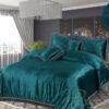 Embossed Velvet Bed Sheet 04