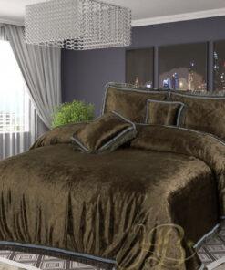 Embossed Velvet Bed Sheet 05