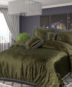 Embossed Velvet Bed Sheet 07