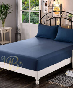 Fitted Sheet Blue