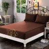 Fitted Sheet Chocolate Brown