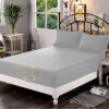 Fitted Sheet Light Grey