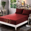 Fitted Sheet Maroon