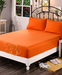 Fitted Sheet Orange