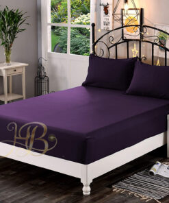 Fitted Sheet Purple