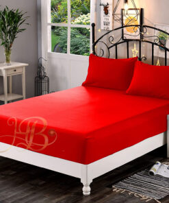 Fitted Sheet Red