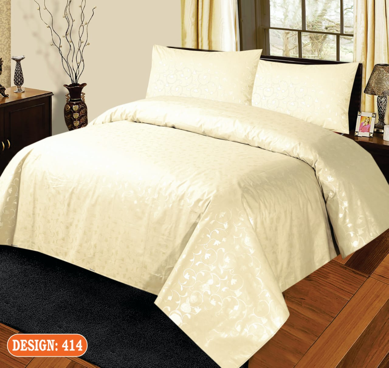 Silk Bed Sheets Online in Pakistan | Printed Cotton & Bridal Bed Sheets