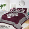 Four Border Velvet Bed sheet 14