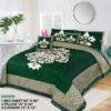 Four Border Velvet Bed sheet 18