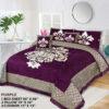 Four Border Velvet Bed sheet 19