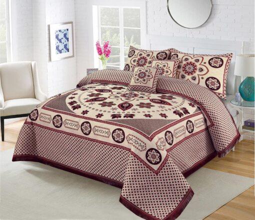 Four Brder foami Bed sheet 01