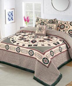 Four Brder foami Bed sheet 02