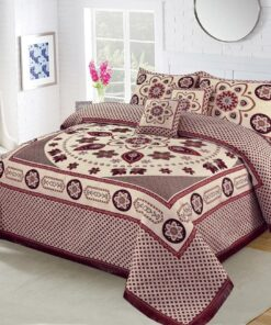 Four Brder foami Bed sheet 03
