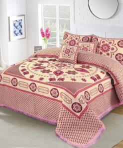 Four Brder foami Bed sheet 04