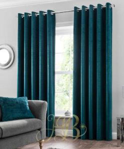 Imported Malai Velvet Curtains Zink